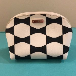 Kate Spade bow makeup bag